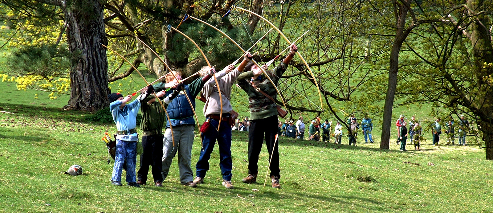 Longbow Archers and Traditional Archery