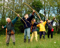 longbow archers introduction to the sport of archery